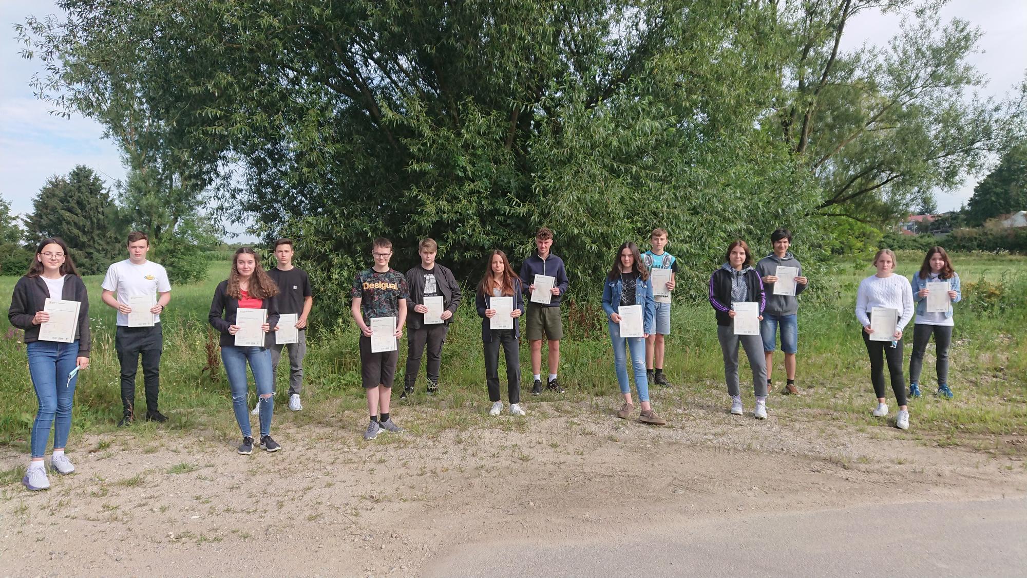 PET-Zertifizierung im Schuljahr 2019/20