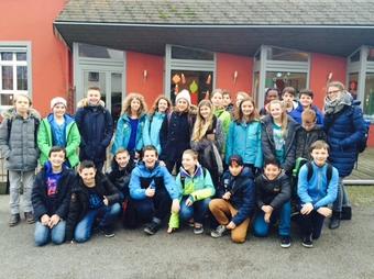 Die 7c besucht Flüchtlingsheim in Bad Rotenfels