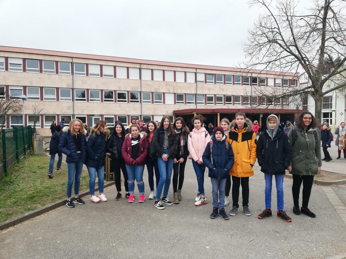 Schüler der LvK-RS zu Besuch in Seltz